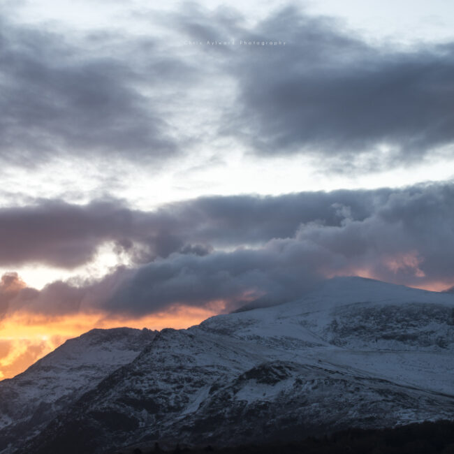 Snowdonia National Park Mountain Winter Landscapes