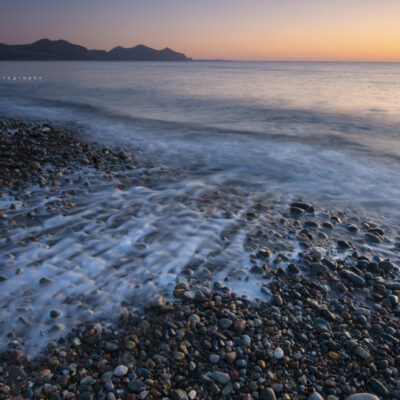 Dinas Dinlle Sunset Beach North Wales