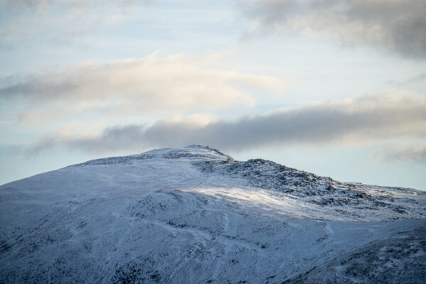 Snowdonia National Park Mountain Winter Landscapes Moel Siabod